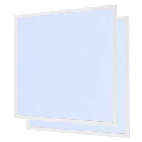 HOFTRONIC™ LED panel 62x62 cm 40W 4400lm 6000K Fickerfree 5 years warranty [2 pieces]