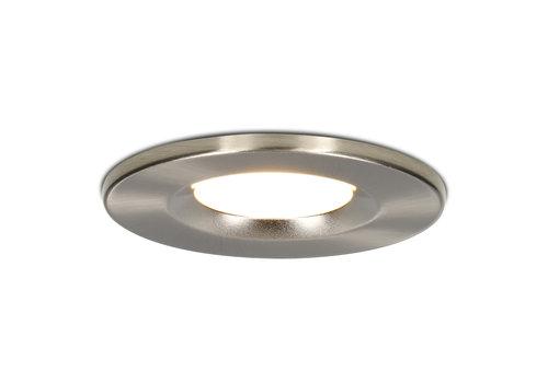 HOFTRONIC™ Dimmable LED downlight stainless steel Venezia 6 Watt 2700K IP65