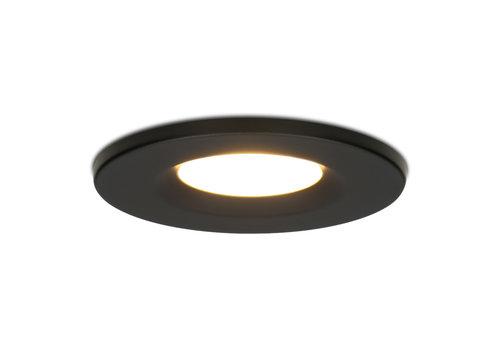 HOFTRONIC™ Dimbare LED inbouwspot zwart Venezia 6 Watt 2700K IP65
