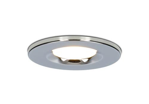 HOFTRONIC™ Dimbare LED inbouwspot chroom Venezia 6 Watt 2700K IP65