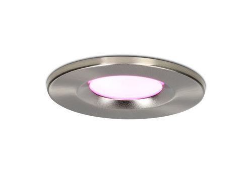Homeylux Smart WiFi LED downlight RGBWW Venezia 6 Watt IP65 Stainless steel