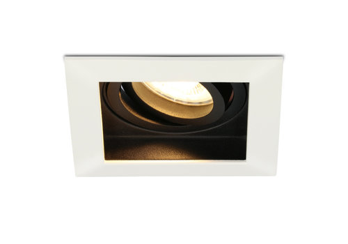 HOFTRONIC™ Dimbare LED inbouwspot Durham 5 Watt 2700K warm wit Kantelbaar