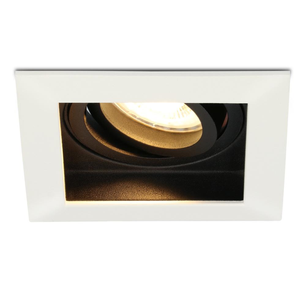 Dimbare LED inbouwspot Durham 4.2 Watt 2700K warm wit Kantelbaar