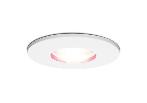 Homeylux Smart WiFi RGBWW LED inbouwspot Barcelona wit GU10 5,5 Watt IP44