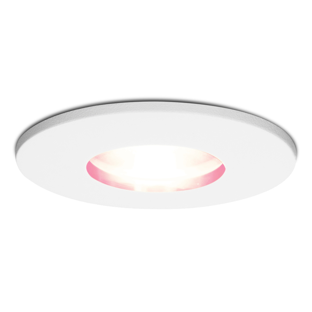 Smart WiFi RGBWW LED inbouwspot Barcelona wit GU10 5,5 Watt IP44