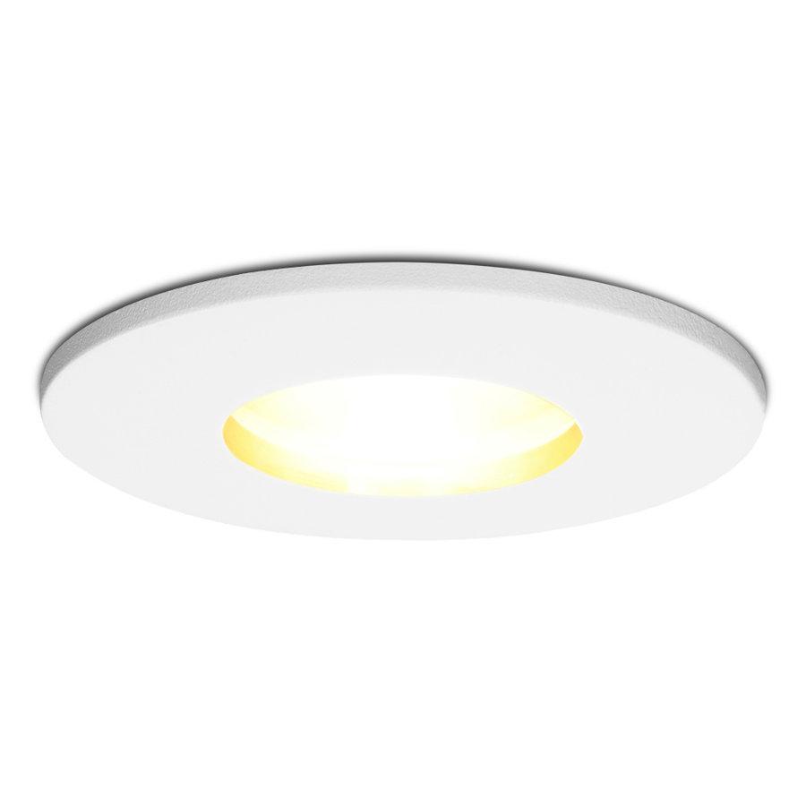 Dimbare LED inbouwspot Barcelona GU10 5 Watt 2700K IP44
