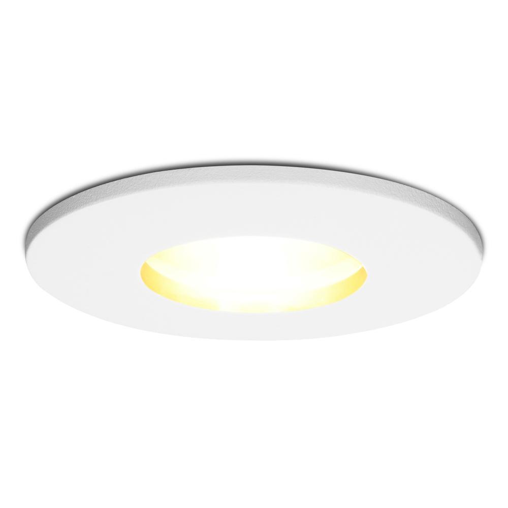 Dimbare LED inbouwspot Barcelona GU10 4.2 Watt 2700K IP44