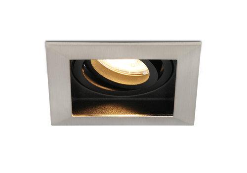 HOFTRONIC™ Dimbare LED inbouwspot Modesto 4.2 Watt 2700K warm wit Kantelbaar