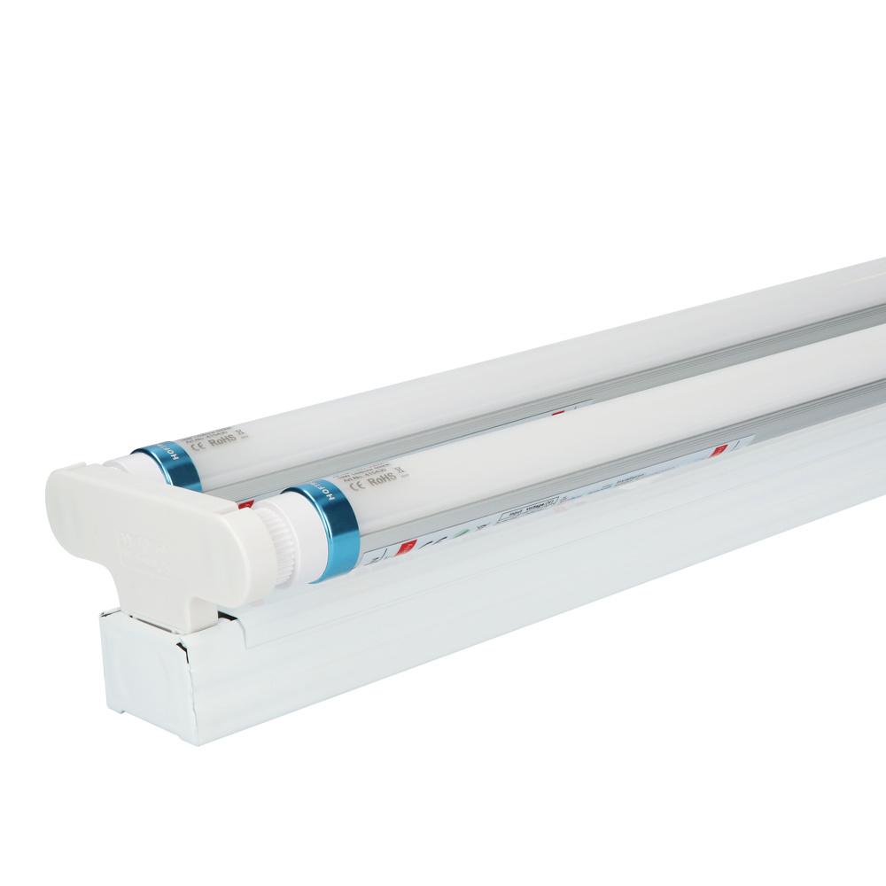 10x LED TL armatuur IP20 150 cm 4000K 25W 7000lm 140lm/W Flikkervrij