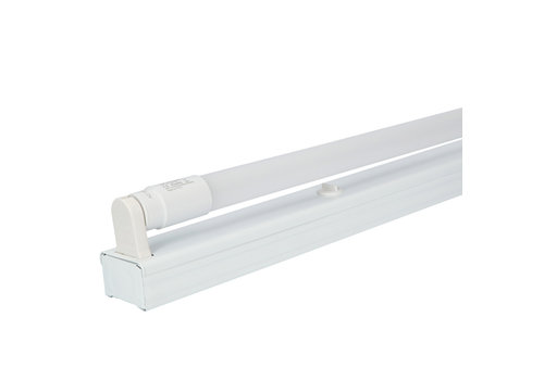 HOFTRONIC™ IP20 LED Fixture 60 cm incl. 1x9W 1170lm 3000K 130lm/W LED Tube