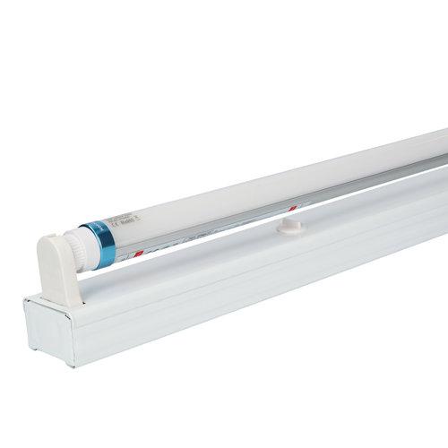 HOFTRONIC™ IP20 LED TL armatuur 60 cm enkelvoudig incl. 1x9W 1260lm 6000K 140lm/W LED buis
