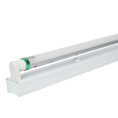 HOFTRONIC™ IP20 LED TL armatuur 60 cm enkelvoudig incl. 1x9W 1440lm 3000K 160lm/W LED buis