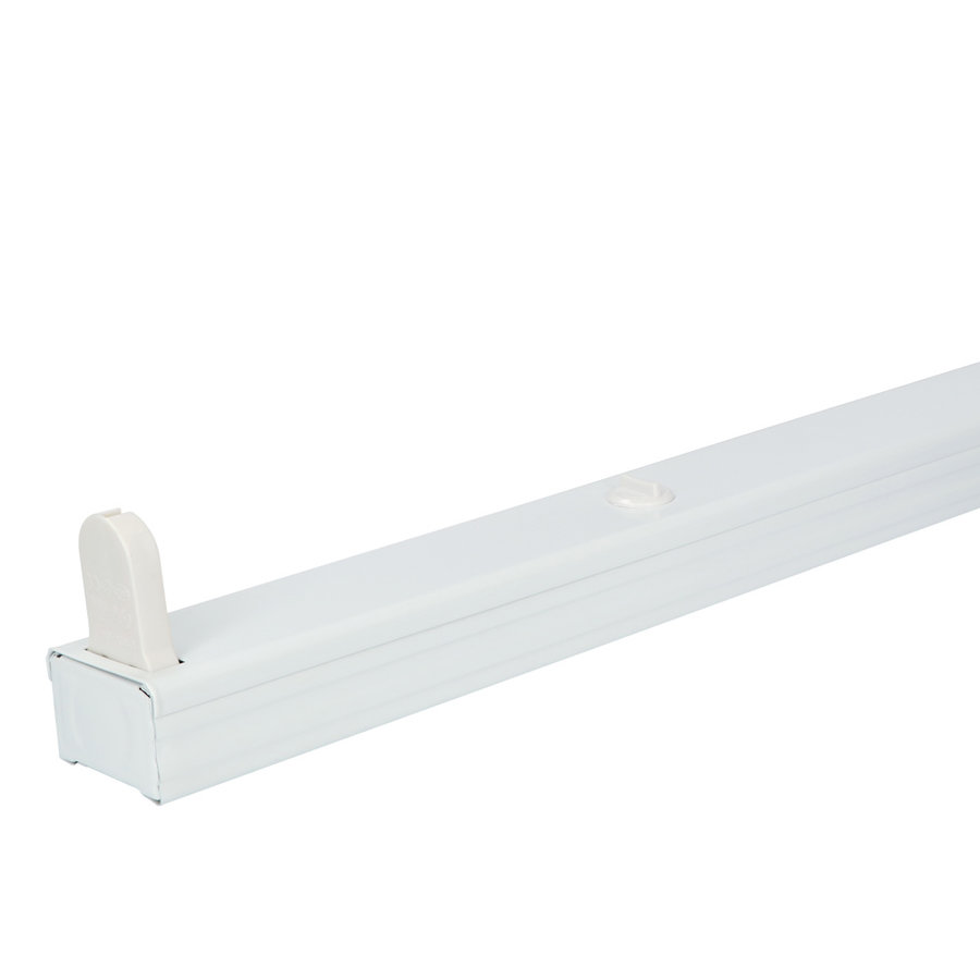 IP20 LED TL armatuur 60 cm enkelvoudig incl. 1x9W 1440lm 4000K 160lm/W LED buis
