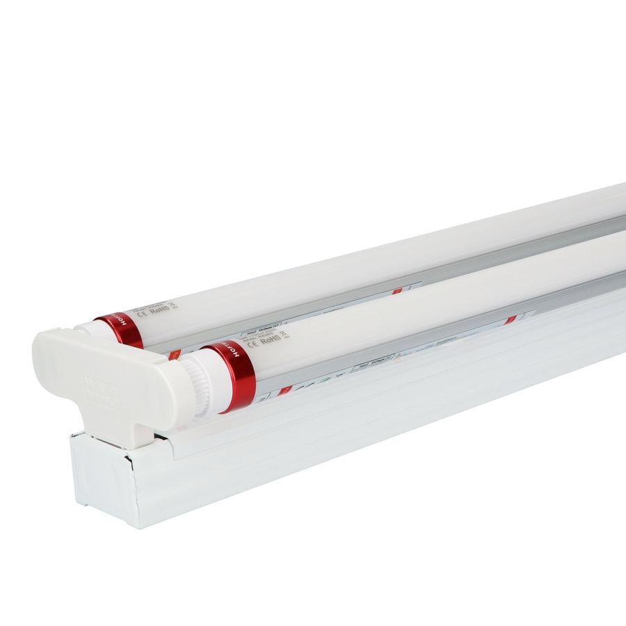 25x LED TL armatuur IP20 120 cm  6000K 18W 6300lm 175lm/W Flikkervrij
