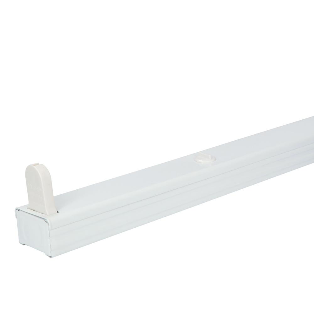 20x LED armatuur 150 cm IP20 geschikte voor droge binnenruimtes enkele uitvoering geschikt voor één