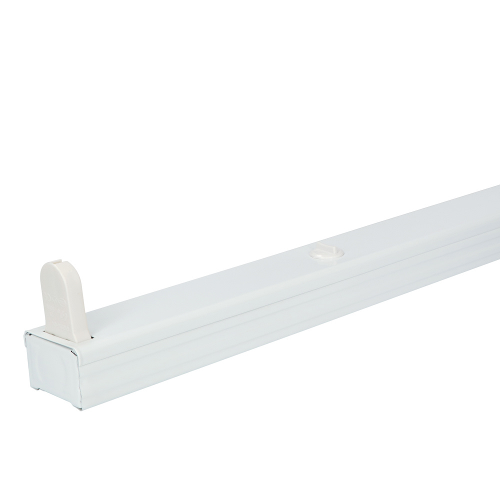 10x LED armatuur 60 cm IP20 voor droge ruimtes enkele uitvoering geschikt voor één buis