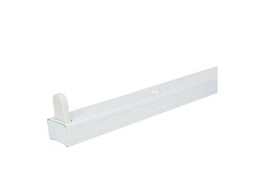 LED armatuur 150 cm IP20 voor droge ruimtes enkele uitvoering geschikt voor één buis
