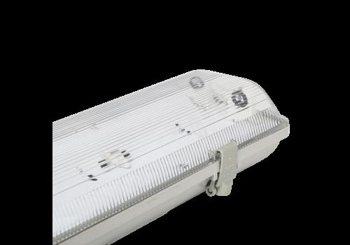 Aigostar Wannenleuchte wasserdicht IP65 doppelte Ausführung 120 cm