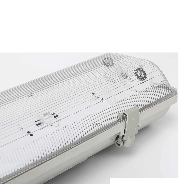 TL armatuur waterdicht IP65 dubbelvoudige uitvoering 120 cm