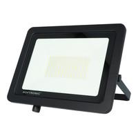 LED Breedstraler 100 Watt 6400K Osram IP65 vervangt 1000 Watt 5 jaar garantie V2