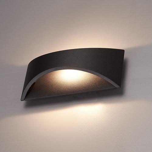 HOFTRONIC™ LED Wall light Lowa black 6 Watt 3000K double-sided illumination IP54