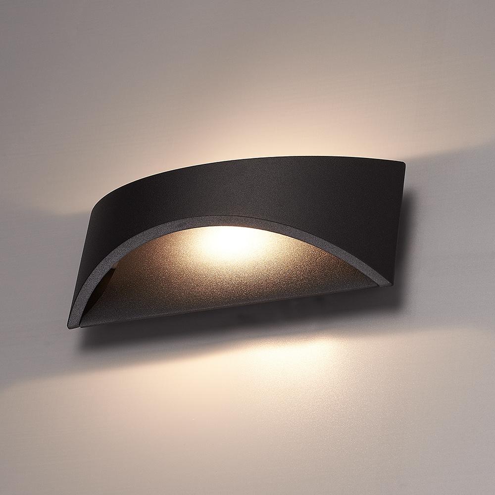 LED Wandlamp Lowa zwart 6 Watt 3000K Up & Down light IP54 spatwaterdicht 3 jaar garantie