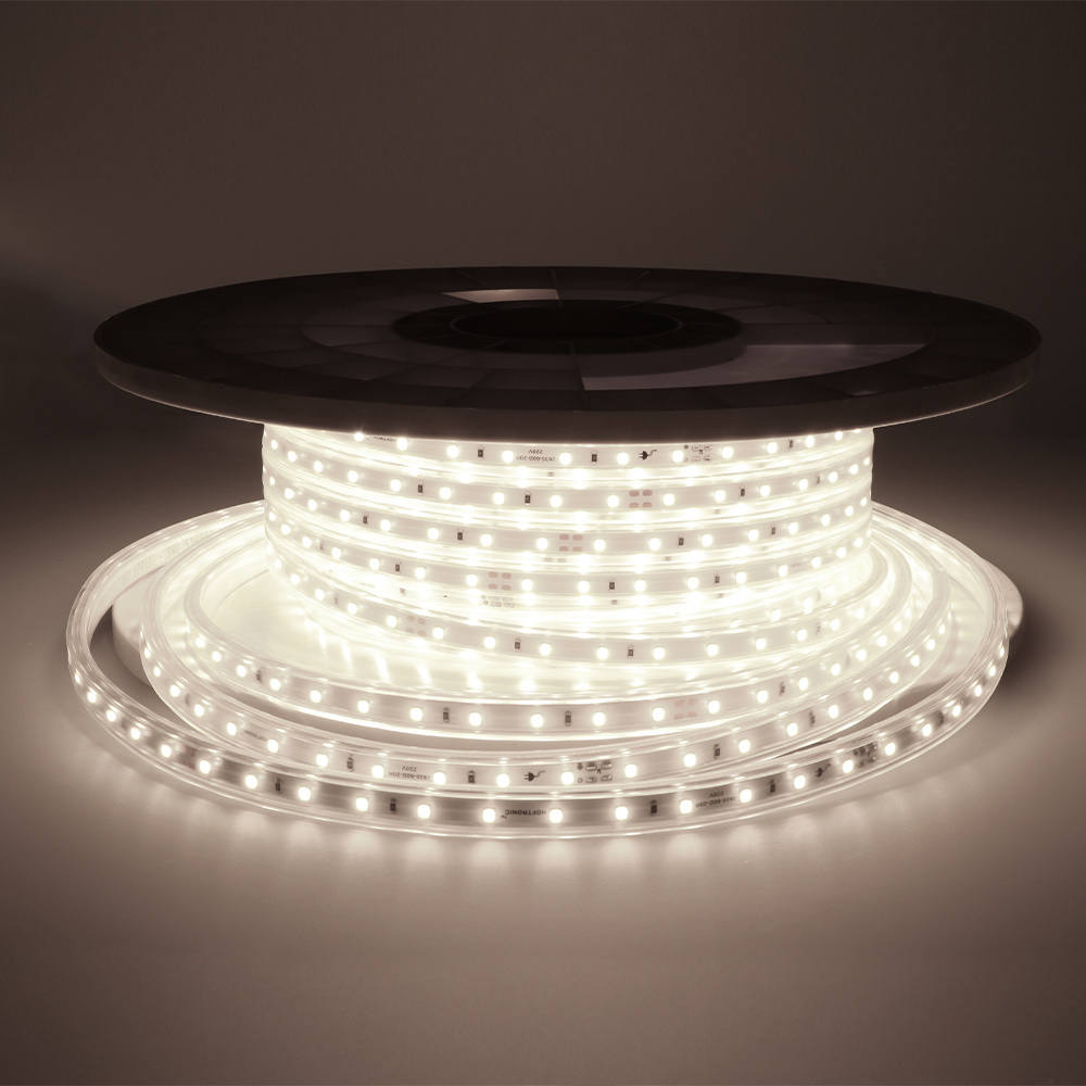 Dimbare LED Strip 25m 6000K 60 LEDs/m IP65 Plug & Play - Flex60 Series