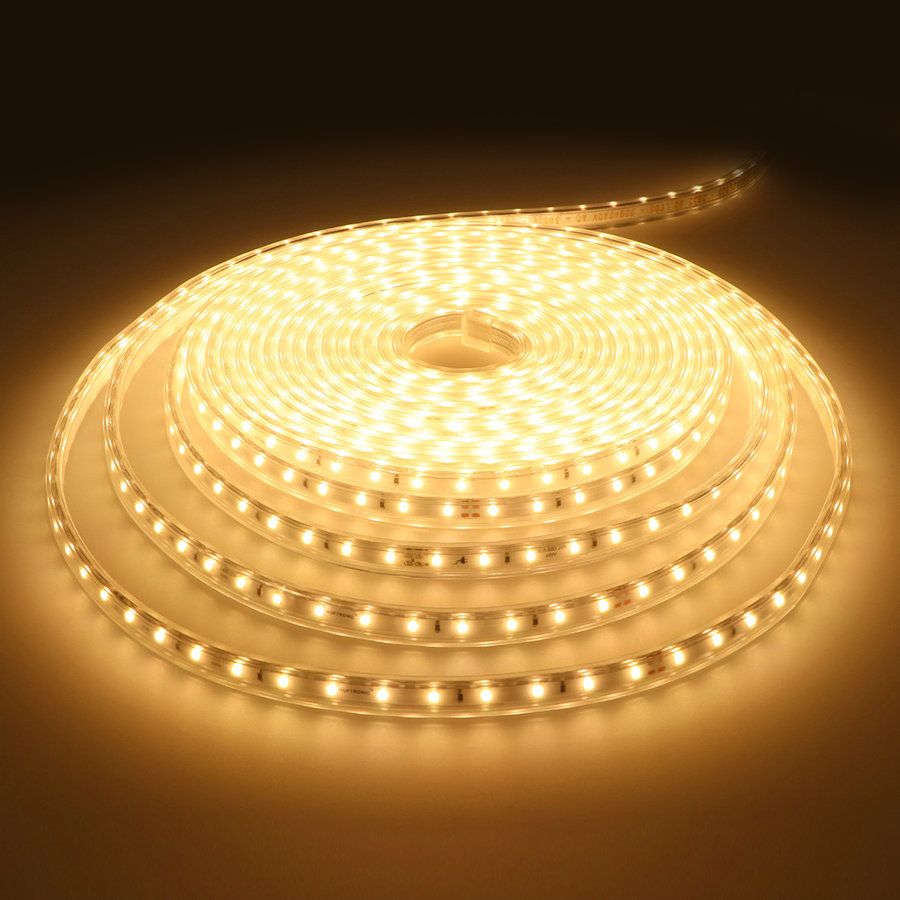 Dimbare LED Strip 10m 3000K 60 LEDs/m IP65 Plug & Play - Flex60 Series