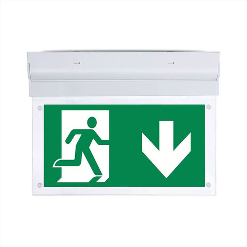 V-TAC LED Emergency light surface-mounted luminaire 2 Watt 6000K Samsung Incl. pictogram with escape route display