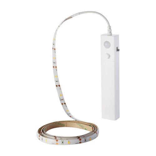 V-TAC LED Strip 1 meter 2.4 Watt 2700K on battery with motion sensor