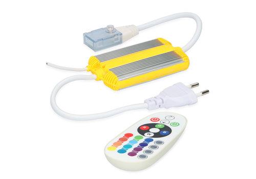 HOFTRONIC™ LED Light strip RF dimmer RGB Plug & Play incl. Remote control Flex60 Series