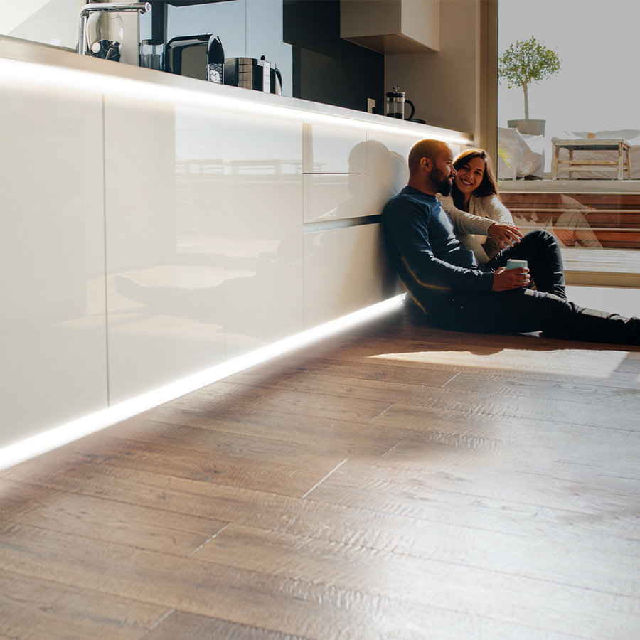 Dimbare LED Strip 10m 6000K 60 LEDs/m IP65 Plug & Play - Flex60 Series