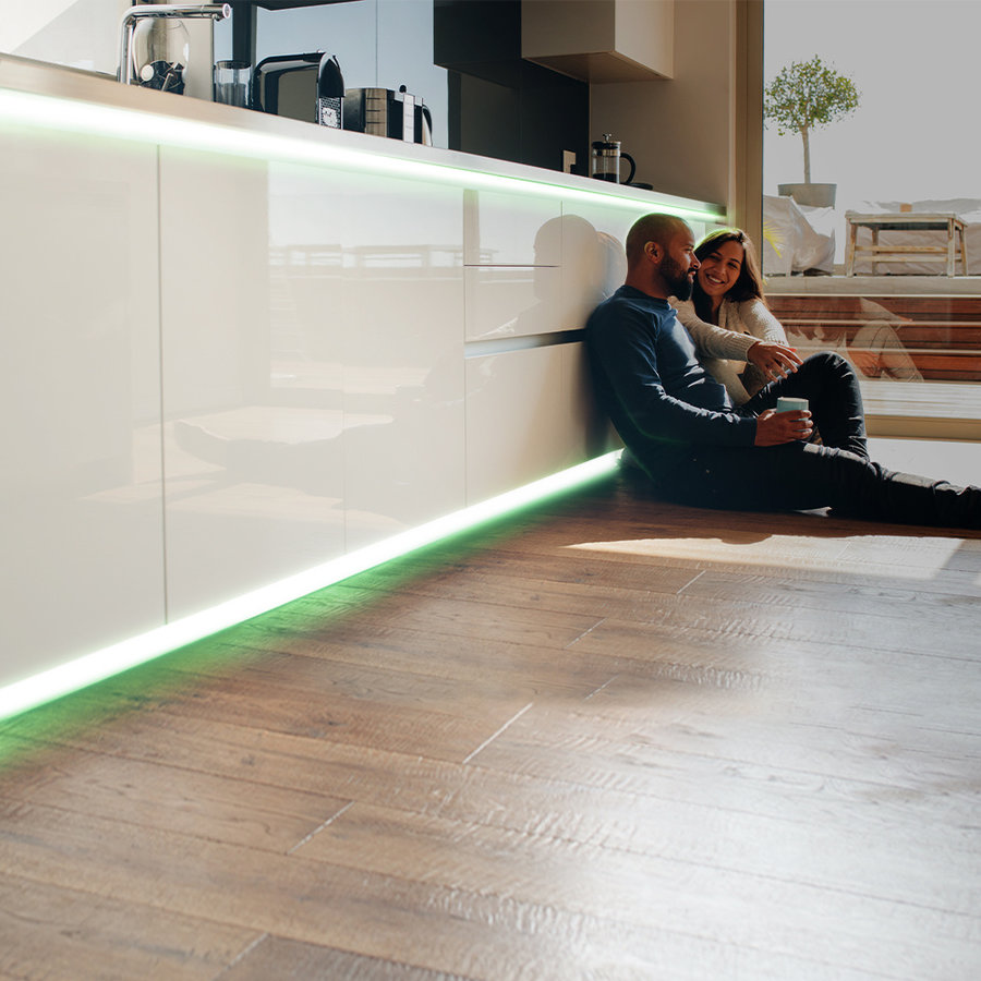 Dimmable LED Light Strip 5m RGB 60 LEDs/m IP65 Plug & Play - Flex60 Series