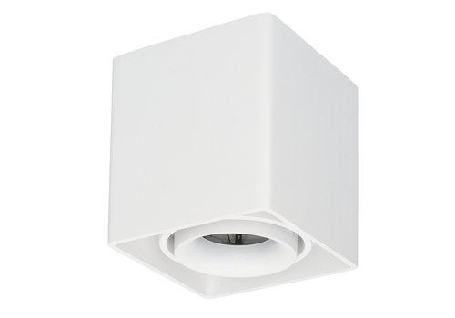 HOFTRONIC™ Dimmable LED surface mounted ceiling spotlight Esto GU10 White IP20 tiltable