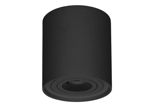 HOFTRONIC™ Dimmable LED surface mounted ceiling spotlight Ray Black IP20 tiltable excl. light source