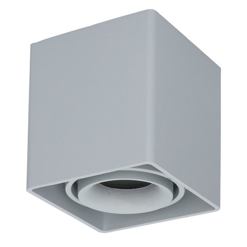 HOFTRONIC™ Dimmable LED surface mounted ceiling spotlight Esto GU10 Grey IP20 tiltable