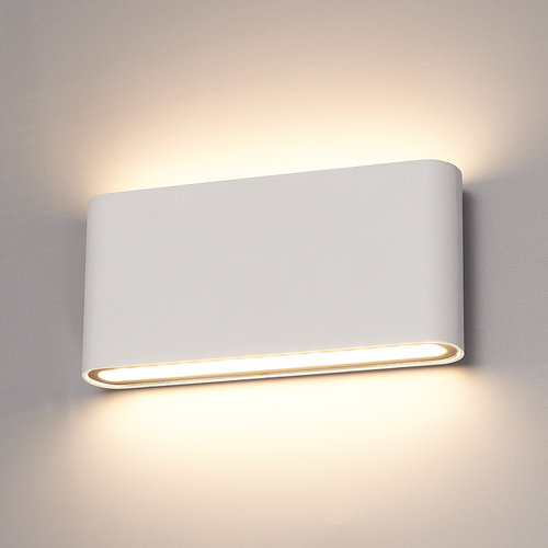 HOFTRONIC™ Dimmable LED Wall light Dallas M white 12 Watt 3000K double-sided illumination IP54