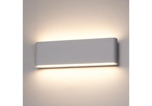 HOFTRONIC™ Dimmable LED Wall light Dallas XL grey 24 Watt 3000K double-sided illumination IP54