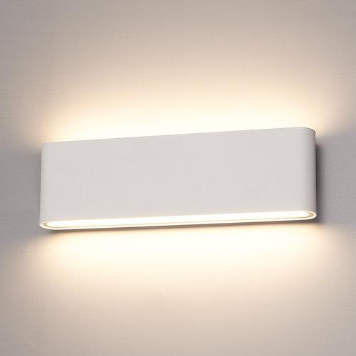HOFTRONIC™ Dimmable LED Wall light Dallas XL white 24 Watt 3000K double-sided illumination IP54