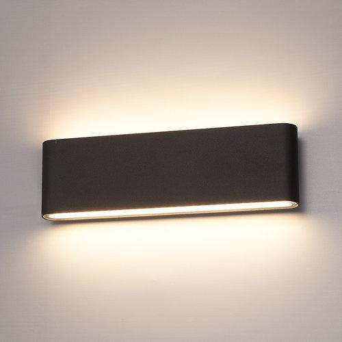 HOFTRONIC™ Dimmable LED Wall light Dallas XL black 24 Watt 3000K double-sided illumination IP54