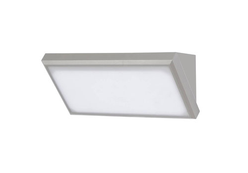 V-TAC Modern LED Wall Outdoor lamp 12 watt 600lm 3000K warm white IP65 Colour Grey
