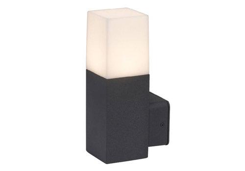 V-TAC Wandlamp GU10 Vierkant Zwart Aluminium IP54