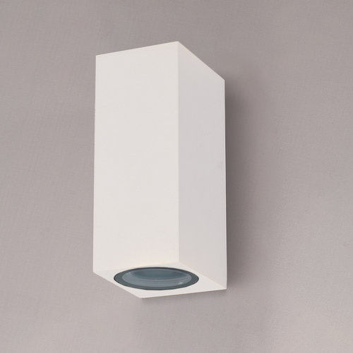 HOFTRONIC™ Dimmable LED wall-mounted luminaire Selma White IP44 GU10 double-sided illumination excl. light sources