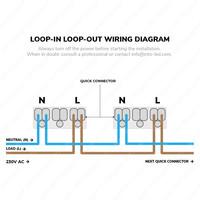 6x Smart LED inbouwspots Rome RVS 6 Watt RGBWW IP44 kantelbaar