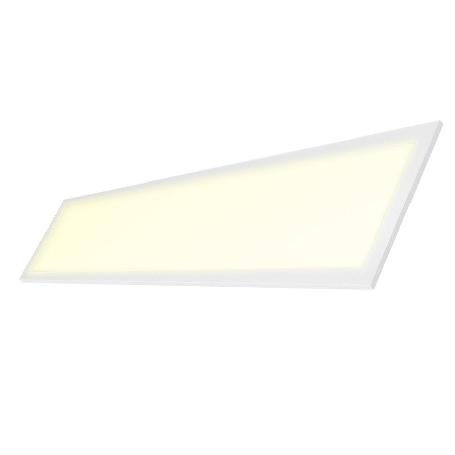 Dimbaar LED Paneel 30x120 cm 36 Watt 4500lm (125lm/W) High Lumen 3000K Flikkervrij 5 jaar garantie EIA Subsidie geschikt