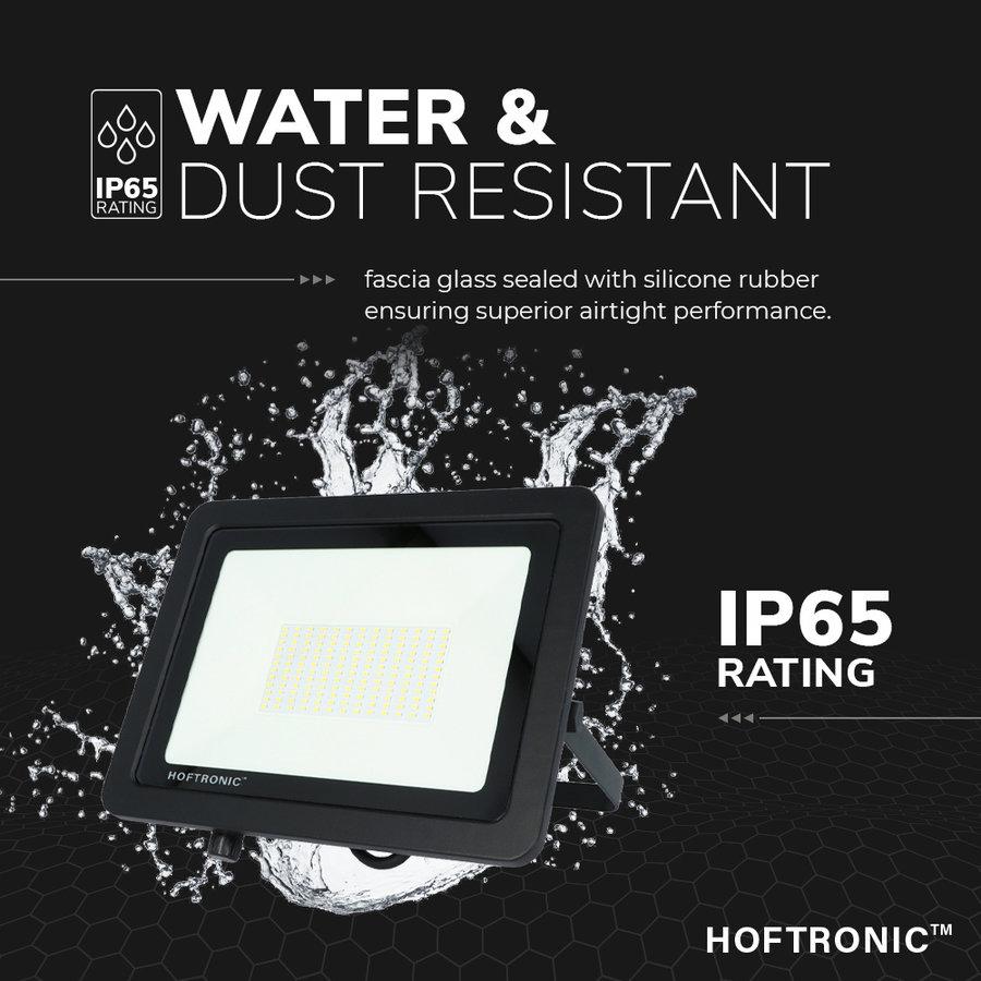 LED Breedstraler 100 Watt 4000K Osram IP65 vervangt 1000 Watt 5 jaar garantie