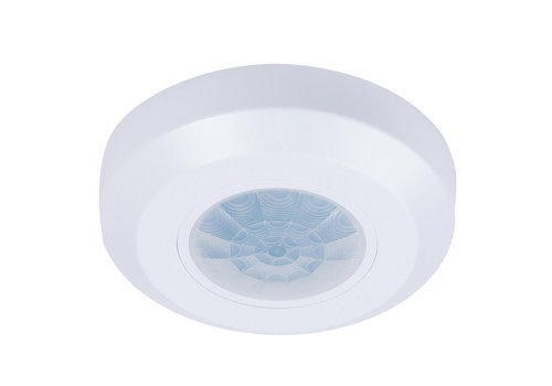 HOFTRONIC™ PIR motion sensor 360° range 8m Maximum 200 Watt IP20 surface mounted color white