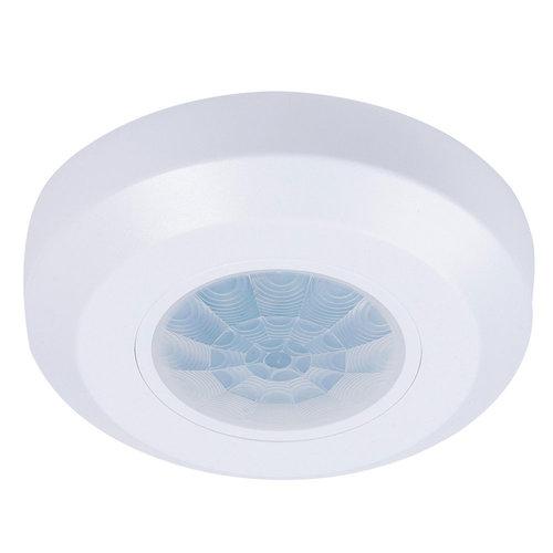 HOFTRONIC™ PIR bewegingssensor 360° bereik 8 meter Maximaal 200 Watt IP20 opbouw kleur wit