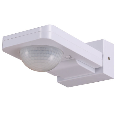 HOFTRONIC™ PIR motion sensor 360° 20 meter Maximum 1000 Watt IP65 white