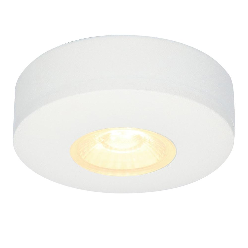 LED Opbouwspot Pavo wit 3 Watt 2700K 260lm Ø69 mm